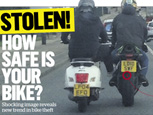 STOLEN - HOW SAFE IS YOUR BIKE - Shocking Image Reveals Trend In Bike Theft
